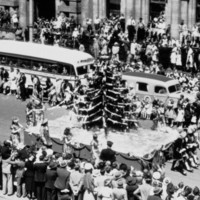 Christmas Pageant, 1950s