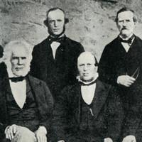 A group of older men