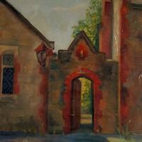 Image: Painting of Destitute Asylum