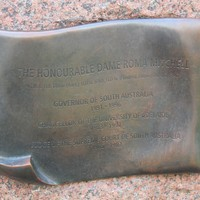 Image: bronze plaque