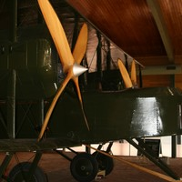 Sir Ross Smith's Vickers Vimy at Adelaide Airport