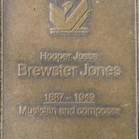 Jubilee 150 walkway plaque of Hooper Josse Brewster Jones