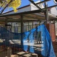 Image: Cafe under construction