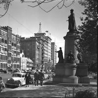 King Edward VII statue, c1929