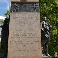 Image: Writing engraved on granite pillar