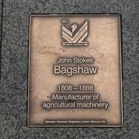 Image: John Stokes Bagshaw Plaque