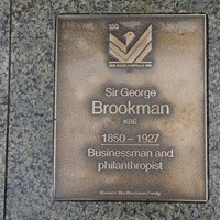 Image: Sir George Brookman Plaque