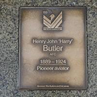 Image: Henry John Butler Plaque