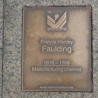 Image: Francis Hardey Faulding Plaque