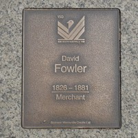 Image: David Fowler Plaque