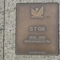 Image: ST Gill Plaque