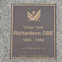 Image: Victor York Richardson Plaque