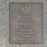 Image: Margaret Graham Plaque