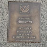 Image: Sir Edward Hayward Plaque