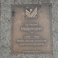 Image: Sir Robert Helpmann Plaque