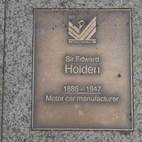 Image: Sir Edward Holden Plaque