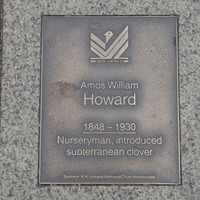 Image: Amos William Howard Plaque