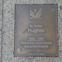 Image: Sir Walter Hughes Plaque