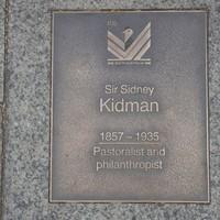 Image: Sir Sidney Kidman Plaque