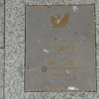 Image: Charles Cameron Kingston Plaque