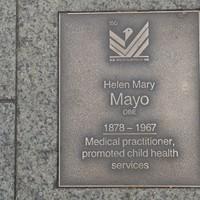 Image: Helen Mary Mayo Plaque