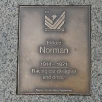 Image: Eldred Norman Plaque