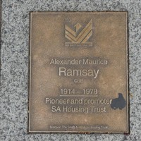 Image: Alexander Maurice Ramsay Plaque