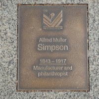 Image: Alfred Muller Simpson Plaque
