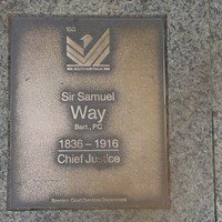 Image: Sir Samuel Way Plaque