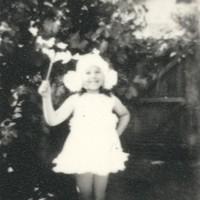 Image: Girl in snowflake costume