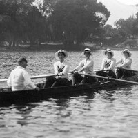 Image: YWCA rowing crew