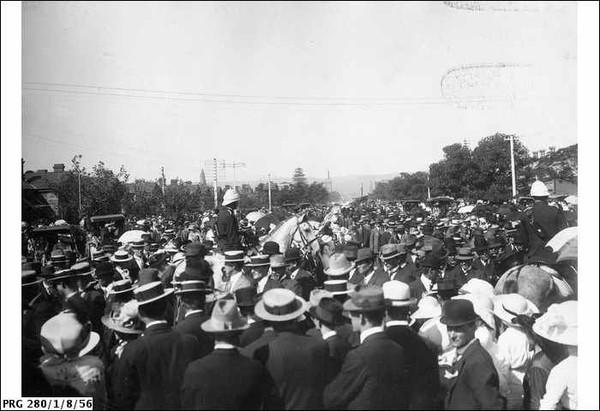 Funeral of Charles Kingston, 1908