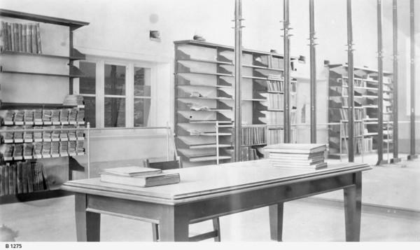 Interior of the Archives Department, Adelaide, 1923
