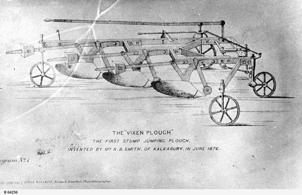 Image: sketch of plough