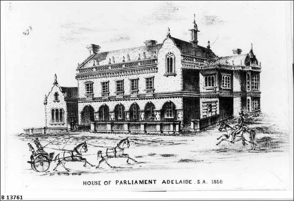 Parliament House, 1858
