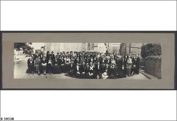 Image: photo of the members of the Woman's Christian Temperance Union