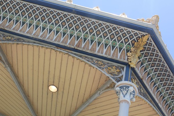 Detail from Elder Park Rotunda