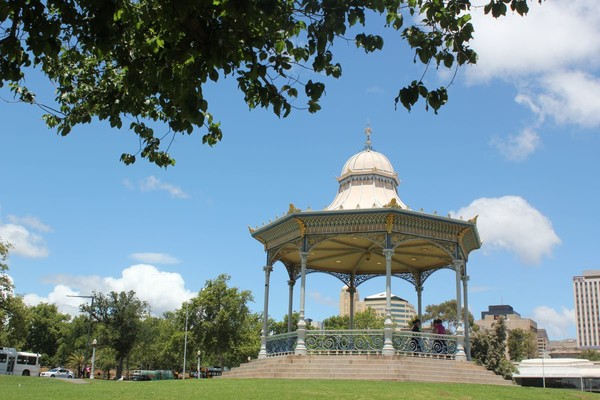 Elder Park rotunda, 2013