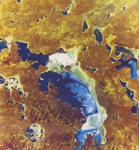 Image: satellite image of salt lake