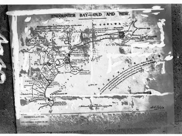 Image: Map with location of shipwreck site