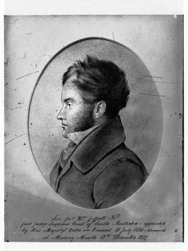 Image: Sketch of man in profile