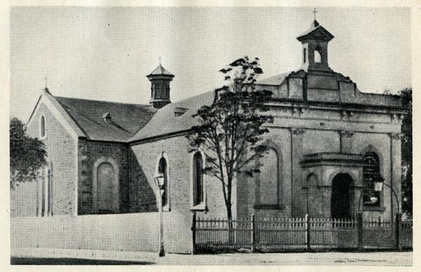 Grote Street Chapel, as enlarged, 1873