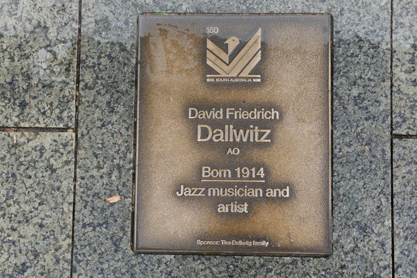 Image: David Friedrich Dallwitz Plaque