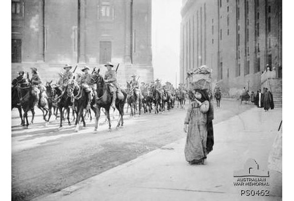 Light Horse in Cairo.