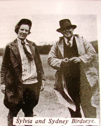 Image: Sylvia Birdseye and her husband Sydney
