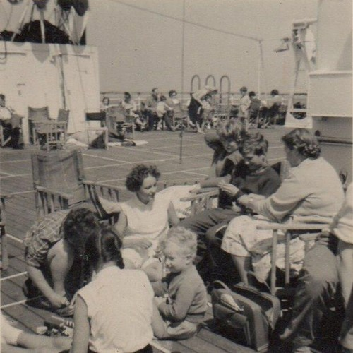 Image: group of people sitting together