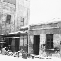 Image: View of run-down building