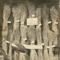 Image: display of bundles of wheat