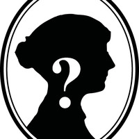 Image: silhouette of a woman's head with white question mark on top