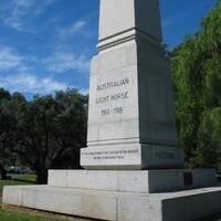 Australian Light Horse Memorial, 2010